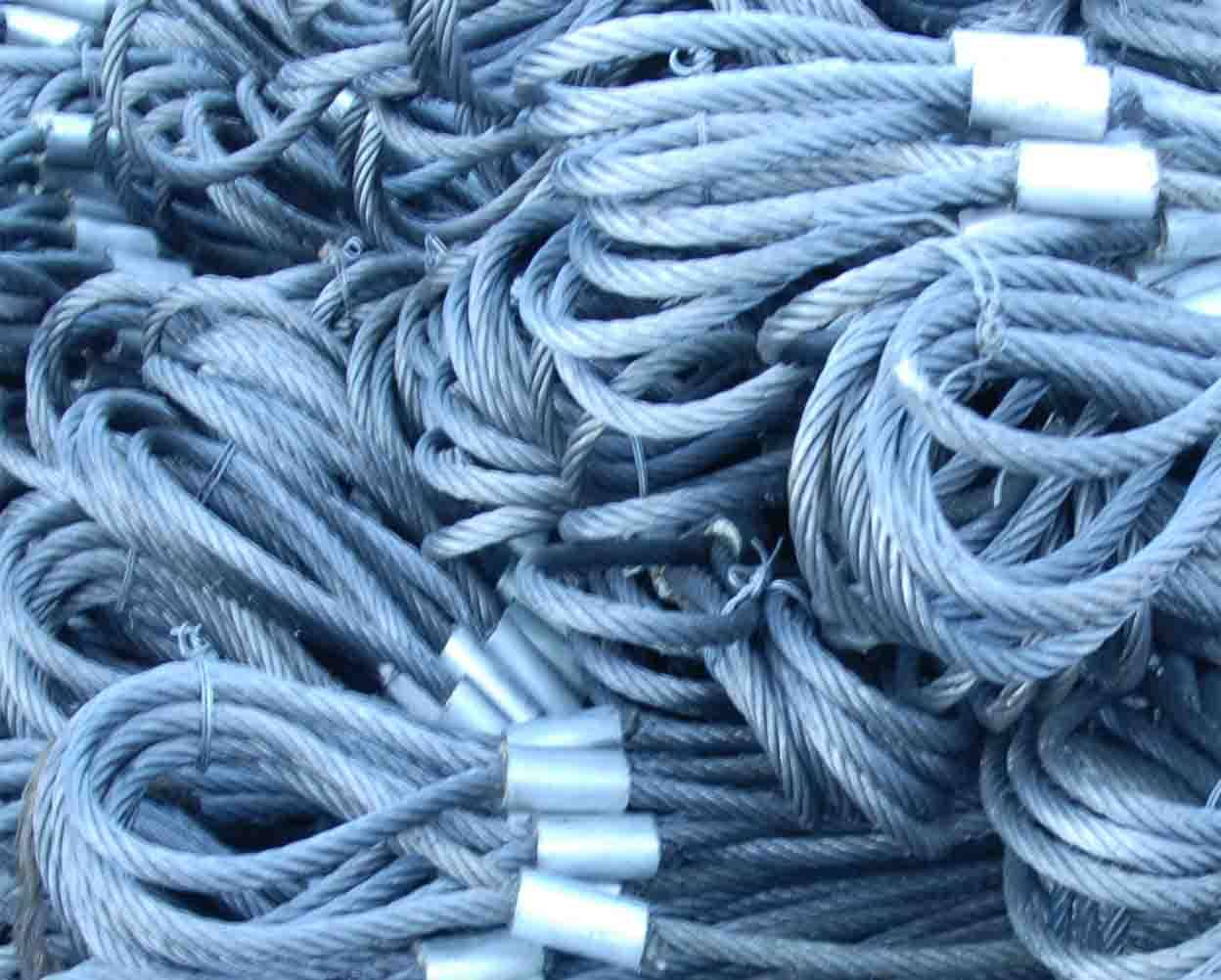 Wire Rope Slings Hoisting Wire Rope And Sling